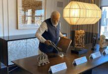 modi stolen artefacts