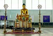 kushinagar airport buddhist